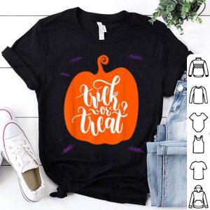Beautiful Trick Or Treat Pumpkin Halloween Jack O Lantern shirt