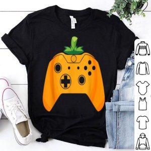 Beautiful Video Gamer Halloween Funny Pumpkin Costume shirt