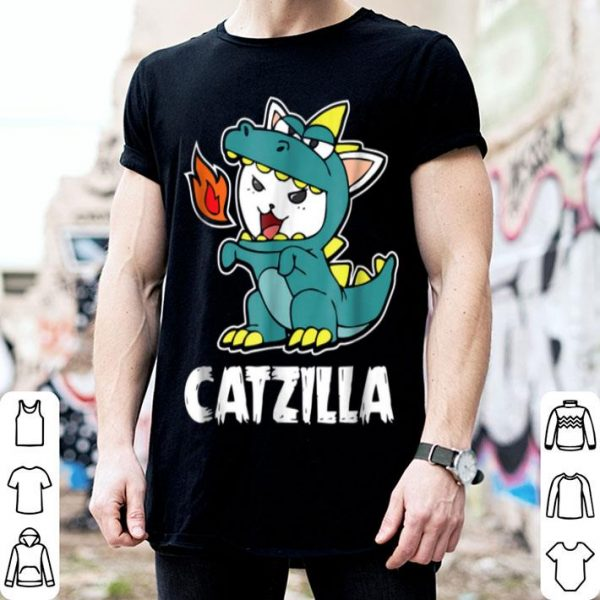 Catzilla Kitten Dragon Cat Halloween Costume shirt