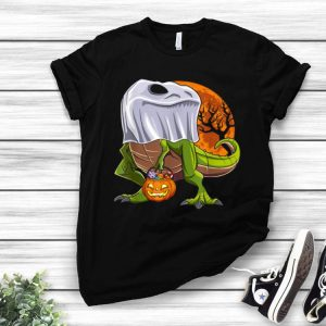 Dinosaur Ghost Halloween Costume Kids Boys Trick Or Treat shirt