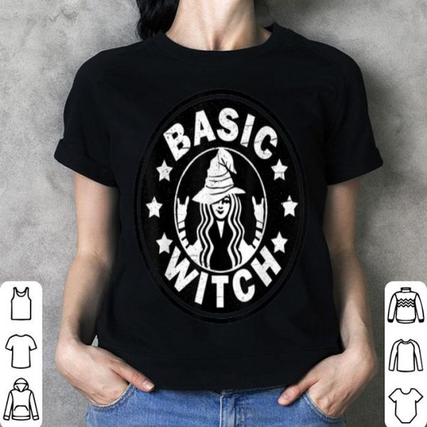 Funny Basic Witch Halloween Distressed shirt