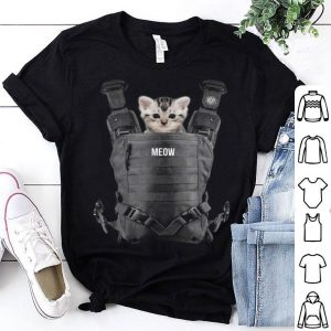 Funny Halloween Cat Cool Kitty Cats Carrier Funny Gift shirt
