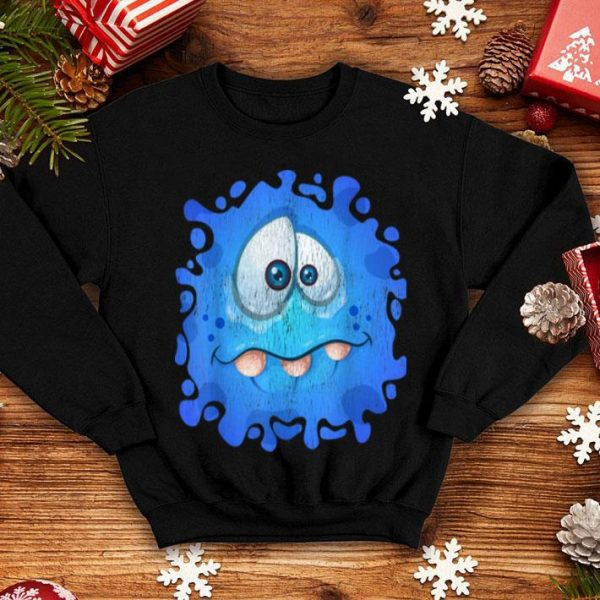Halloween Costume Cute Monster Face Graphic Vintage shirt