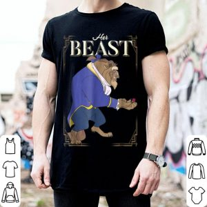 Hot Disney Beauty & The Beast Her Beast Graphic shirt