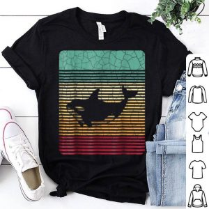 Killer Whale Orca Retro Vintage Novelty Birthday shirt