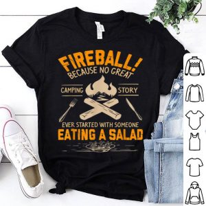 Nice Love Fireball Love Camping Funny shirt