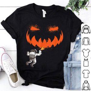Nice Pumpkin Astronaut Jackolantern In Space Halloween Kids Gift shirt