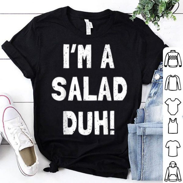 Nice Salad Halloween Costume Funny Boy Girl Kids Vegie shirt