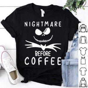 Nightmare Before Coffee Funny Halloween shirt