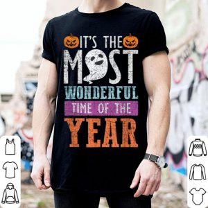 Official Funny Halloween Most Wanderful Time Of The Year shirt