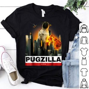 Official PUGZILLA - Funny Pug for Dog lovers to Halloween shirt