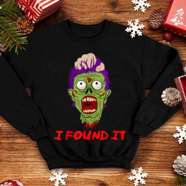 Official Zombie Head Tshirt Scary Severed Head Funny Zombie Head shirt