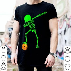 Original Dabbing Skeleton Pickleball Halloween shirt