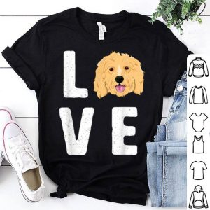 Premium Love Goldendoodles Women KIds Dog Puppy Doodle shirt