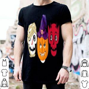 Premium Skull Pumpkin Hat Witch Mummy Demon Halloween Funny shirt