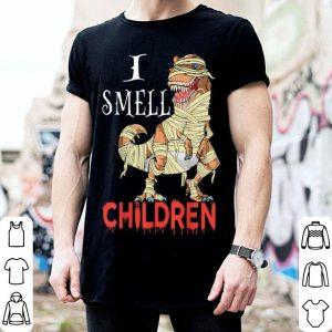Top I Smell Children Dinosaur Halloween shirt