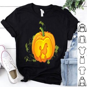 Top Poodle In Pumpkin Halloween Dog Lovers shirt