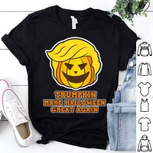 Trumpkin - Make Halloween Great Again - Pumpkin Trump shirt