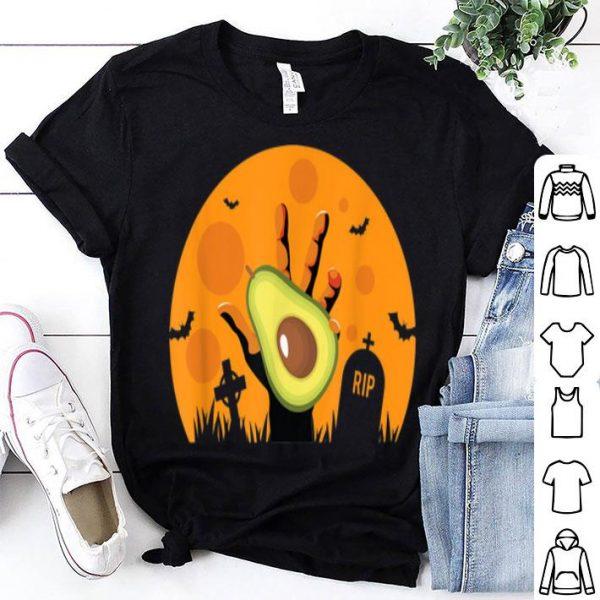 Awesome Avocado Halloween Zombie Food shirt