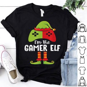 Awesome I'm The Gamer Elf Funny Christmas Gamer Kid Boy Gift shirt