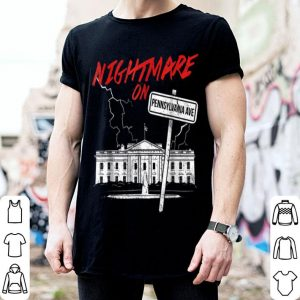 Awesome Nightmare on Pennsylvania Halloween Trump Costume Tee shirt