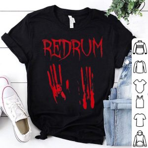 Awesome Redrum Halloween Vintage Horror Movie Gift Costume shirt