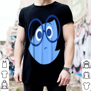 Beautiful Disney Pixar Inside Out Sad Face Halloween Graphic shirt