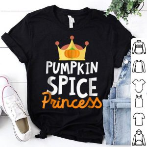 Beautiful Pumpkin Spice Princess Funny Thanksgiving Spice Girl shirt
