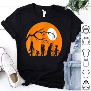 Beautiful Star Wars Trick Or Treat Halloween Silhouette shirt