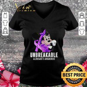 Cheap Minnie mouse unbreakable Alzhemer's Awareness shirt