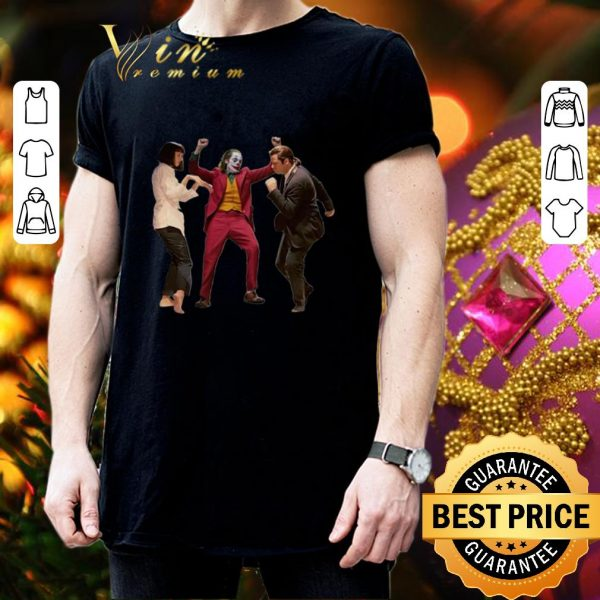Cool Mia Wallace Joker and Vincent Vega Pulp Fiction dance shirt