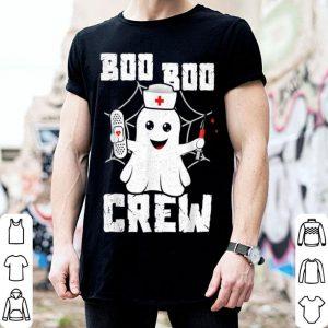 Funny Boo Boo Crew Ghost Nurse Costume Girls Funny Halloween shirt