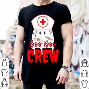 Funny Boo Boo Crew Nurse Halloween Ghost Funny Nursing Costume shirt