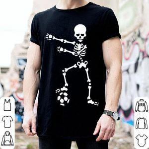 Funny Soccer football floss skeleton flossing shirt