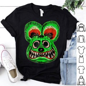 Funny Vintage Halloween Ed Roth Green Rat Fink Horror Gift shirt