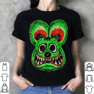 Funny Vintage Halloween Ed Roth Green Rat Fink Horror Gift shirt