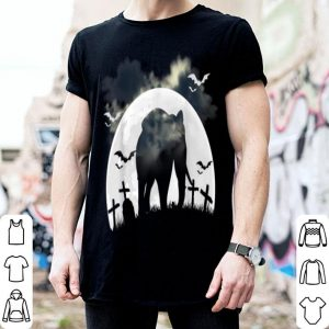 Funny Zoo Keeper Spooky Halloween Gift African Animal Elephant shirt