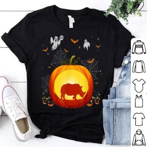Hot Rhino Halloween Pumpkin Costume Cute Outfit Gift shirt