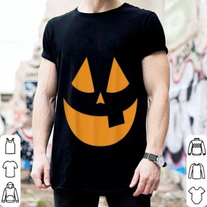 Hot Smiling Pumpkin Face Happy Halloween Gifts shirt