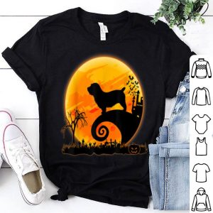 Nice Glen Dog And Moon Funny Halloween Costume Gift shirt
