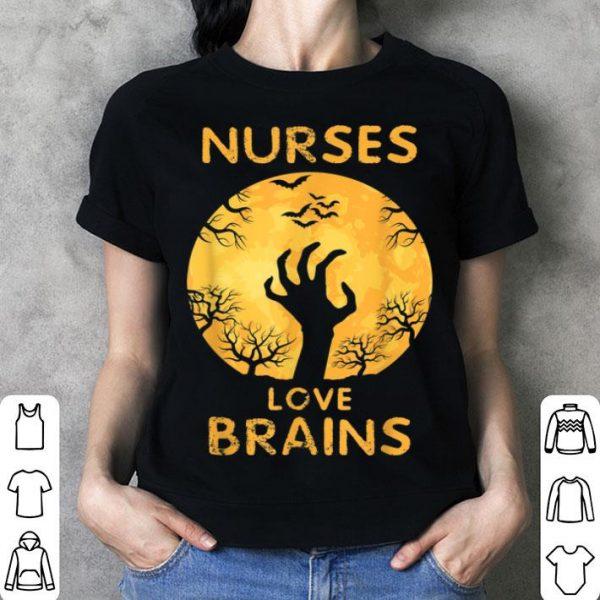 Nice Halloween Funny Zombie Costume For Nurses shirt