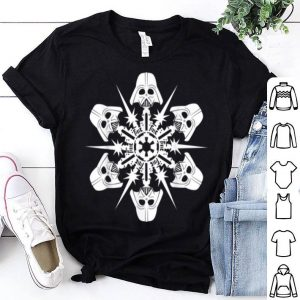 Nice Star Wars Darth Vader Christmas Snowflake Graphic shirt