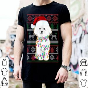 Official Bichon Frise Ugly Sweater Christmas Gift shirt