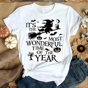Official It's The Most Wonderful Time Of The Year Halloween shirt