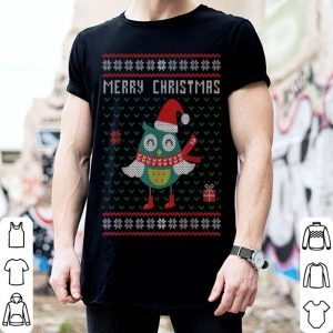 Official Merry Christmas Owl Ugly Christmas Gift shirt