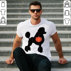 Official Poodle Halloween Pumpkin Costume Cute Dog Outfit Gift shirt