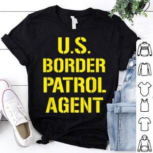 Official US Border Patrol Agent Halloween Costume ICE shirt