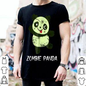 Original Cute Zombie Panda Bear Halloween Scary Kawaii Blink shirt