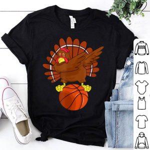Original Dabbing Turkey Basketball Thanksgiving gift shirt