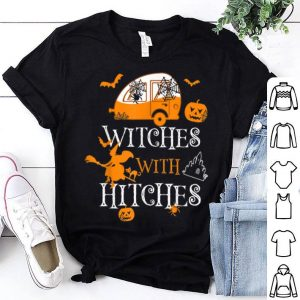 Original Witches With Hitches Halloween Camping shirt